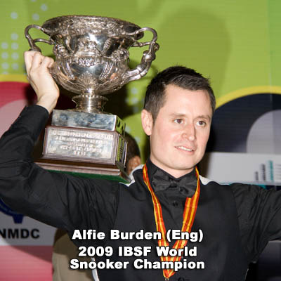 Alfie Burden IBSF World Champion