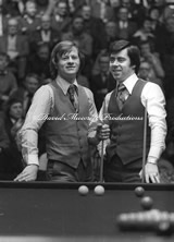 Patsy Fagan with Alex Higgins