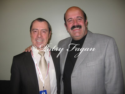 Patsy with Willie Thorne